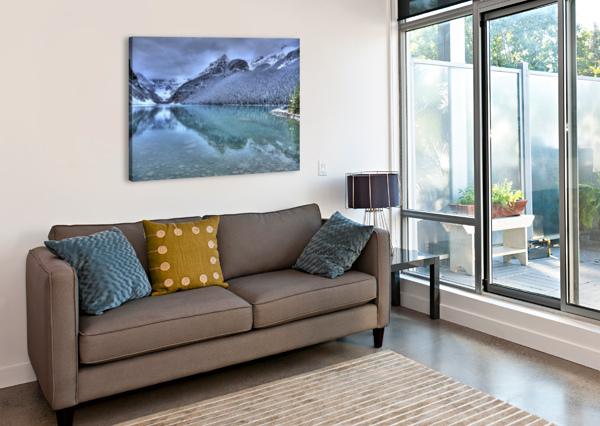 LAKE LOUISE WINTER FABIEN DORMOY  Canvas Print