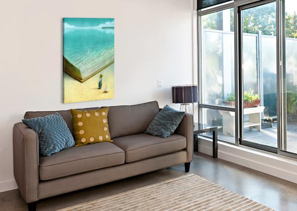 OCEAN PAWEL KUCZYNSKI  Canvas Print
