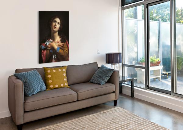 SANT AGATA CARLO DOLCI  Canvas Print