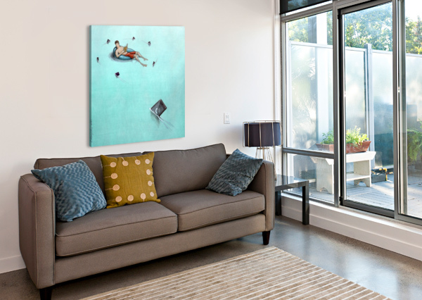 SHARKS PAWEL KUCZYNSKI  Impression sur toile