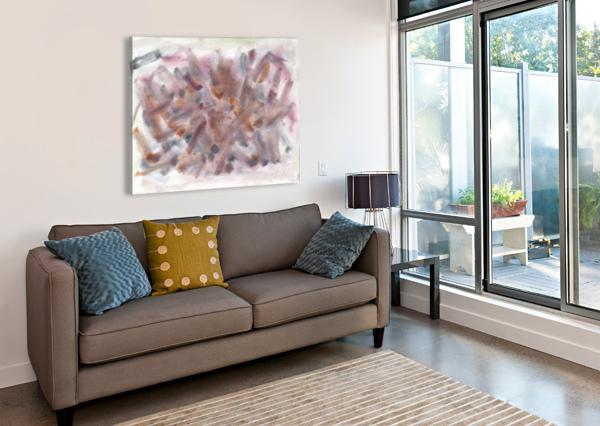 COFFINS ALICE BANCIU  Canvas Print