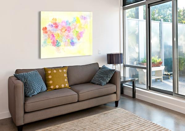 FLOWER JERB ALICE BANCIU  Canvas Print
