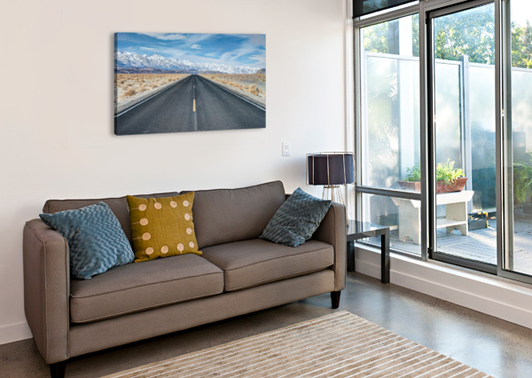 SIERRA NEVADA FABIEN DORMOY  Canvas Print