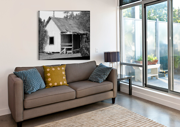 OLD MINERS SHACK ARIZONA PHOTOS BY JYM  Canvas Print