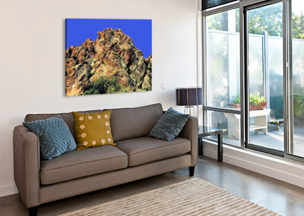 ANOTHER ROCK HILL  ARIZONA PHOTOS BY JYM  Canvas Print