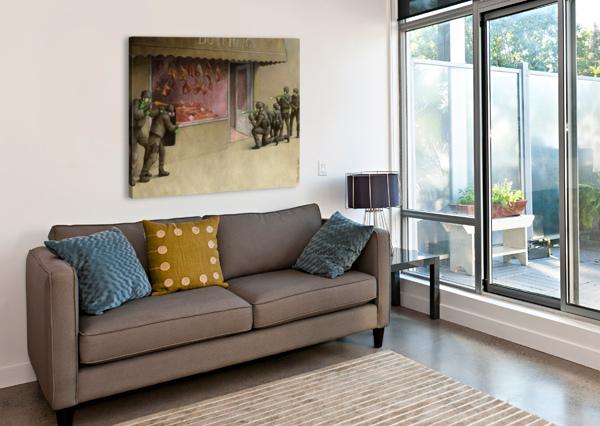 SWAT PAWEL KUCZYNSKI  Canvas Print