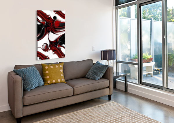 EXPRESSION AND CREATION CARMEN FINE ART  Canvas Print