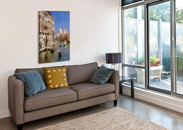 GRAND CANAL RUBENS SANTORO  Impression sur toile