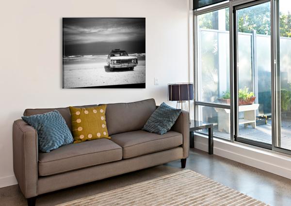 DAYTONA BEACH 2 CHRISTOPHER DORMOY  Canvas Print