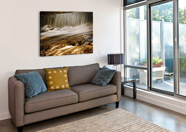 WATERFALL CHRISTOPHER DORMOY  Canvas Print