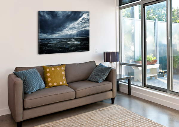 DRAMATIC SKY CHRISTOPHER DORMOY  Canvas Print