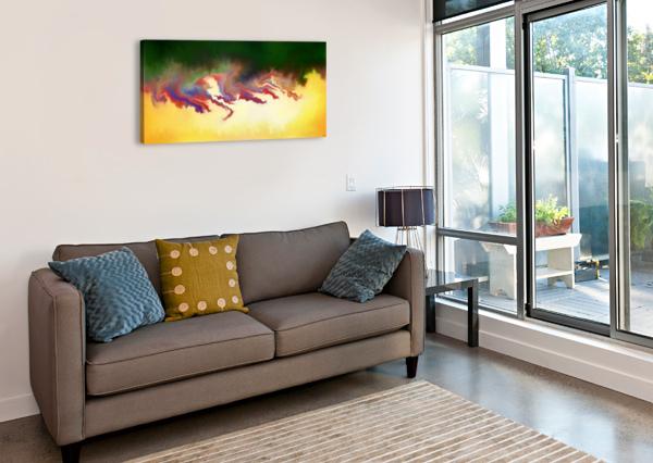 OBADIANI V1 - DIGITAL ABSTRACT CERSATTI ART  Canvas Print