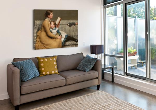 ALICE IN WONDERLAND GEORGE DUNLOP LESLIE  Canvas Print