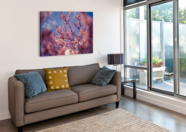 SPRING CHERRY FLOWERS LEVENTE BODO  Canvas Print