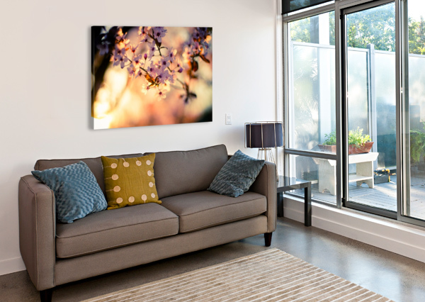 BEAUTIFUL SPRING CHERRY FLOWERS LEVENTE BODO  Canvas Print