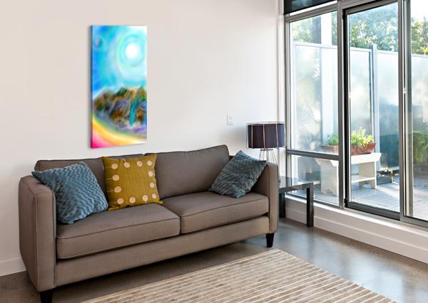 PENUMBRA  CHARLES MILAN FOWLE  Canvas Print