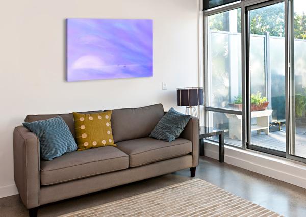 A MAUI TWILIGHT SETTING CHARLES MILAN FOWLE  Canvas Print