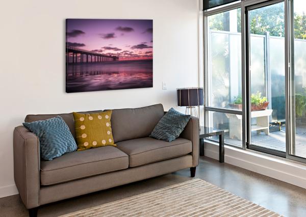 LAJOLLA BRIDGE FABIEN DORMOY  Canvas Print