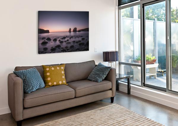 CARMEL SUNSET FABIEN DORMOY  Canvas Print