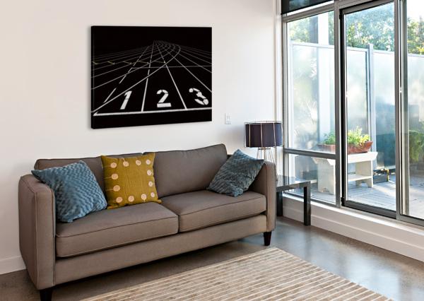 123 1X  Canvas Print