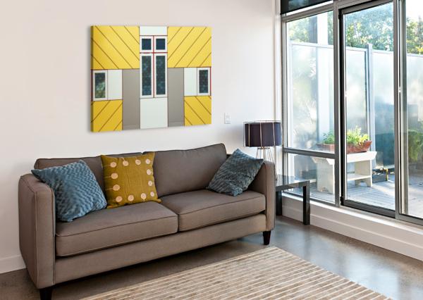 FACADE 1X  Canvas Print