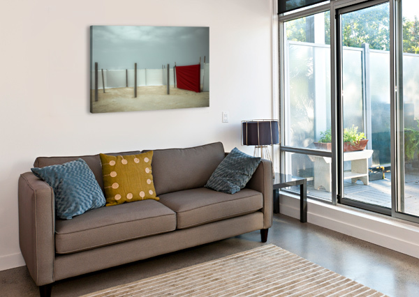 RED CANVAS 1X  Canvas Print