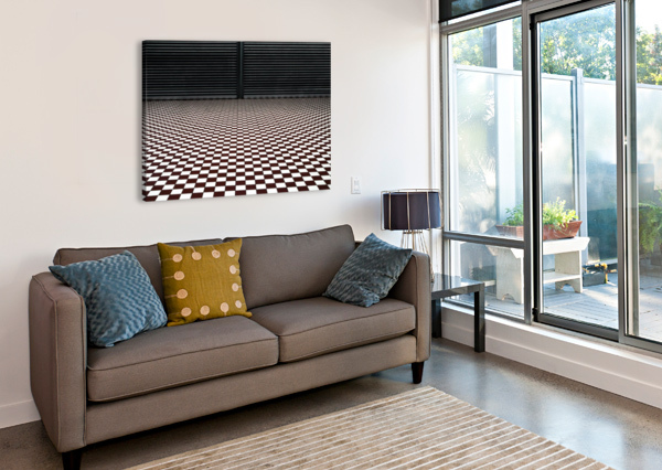 THE HYPNOTIC FLOOR 1X  Canvas Print