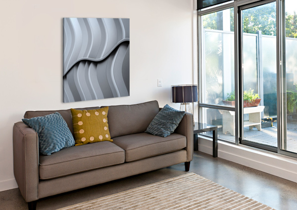 JUST FORM,NO FUNCTION 1X  Canvas Print