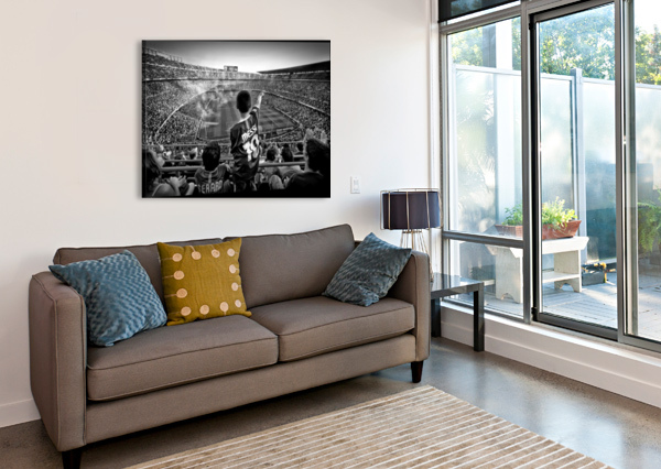 CATHEDRAL OF FOOTBALL 1X  Canvas Print
