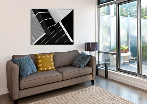 FRAGILE SYMMETRY 1X  Canvas Print