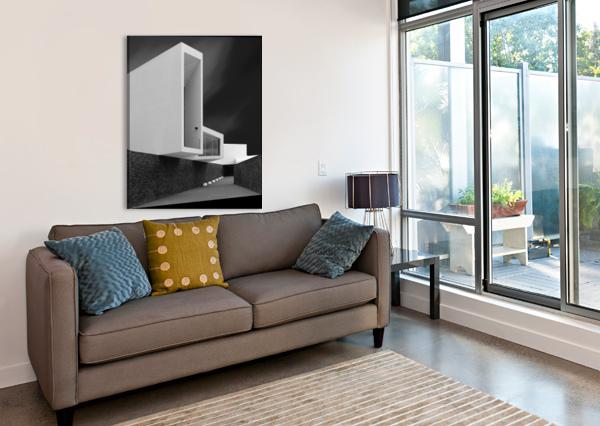 WHITE WALLS 1X  Canvas Print
