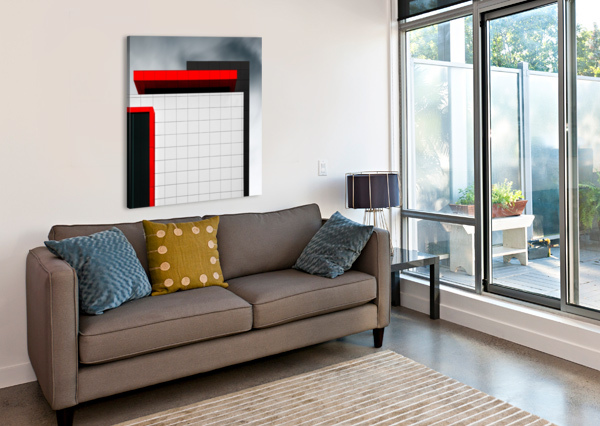 STRUCTURE WAL 1X  Canvas Print