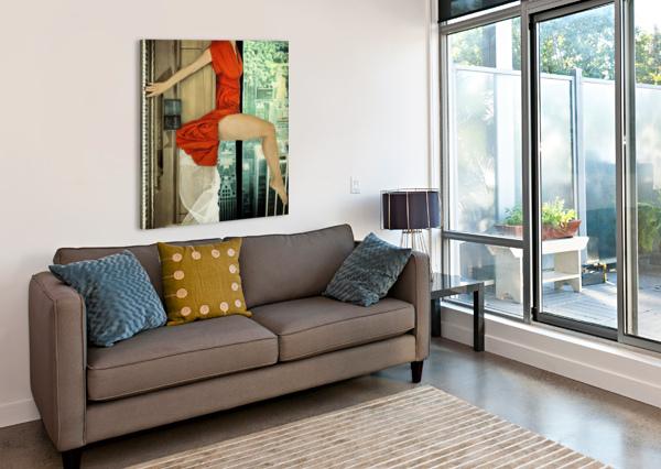CRESCENDO 1X  Canvas Print