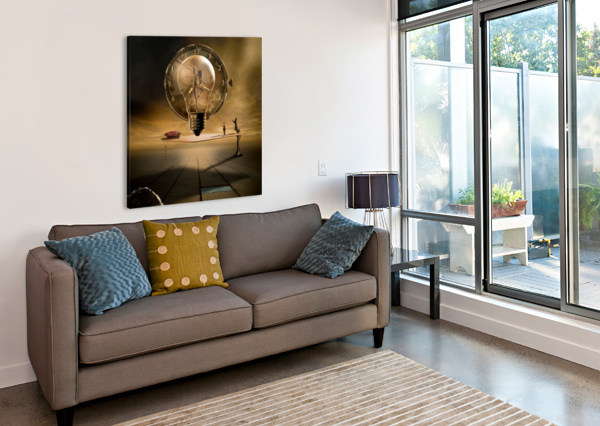 EVEN IN THE QUIETEST MOMENT 1X  Canvas Print