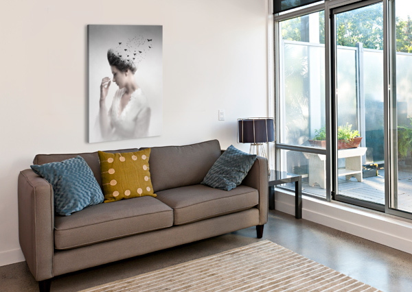 GIVE THEM LIFE 1X  Canvas Print