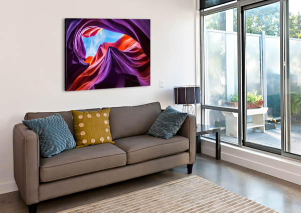 MAGICAL LOWER ANTELOPE CANYON 1X  Canvas Print