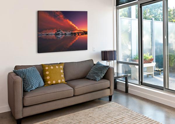 ICE & FIRE 1X  Canvas Print