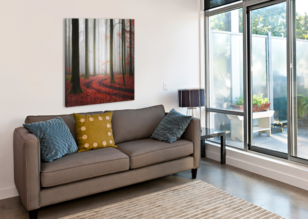 AUTUMNAL TRACKS 1X  Canvas Print