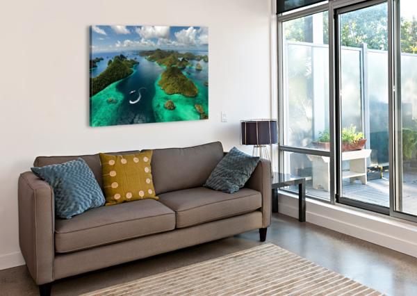 GREEN PARADISE 1X  Canvas Print
