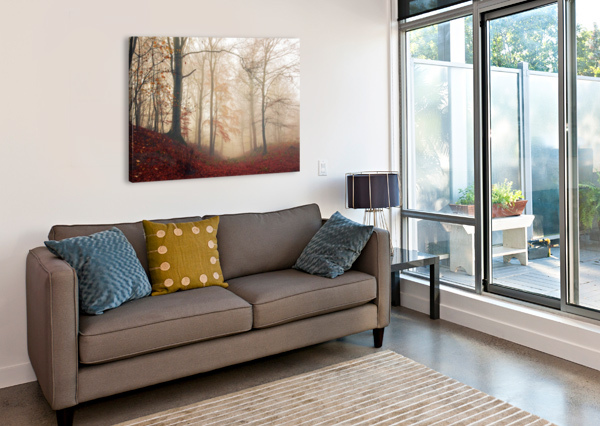WAITING FOR THE DEER. 1X  Canvas Print