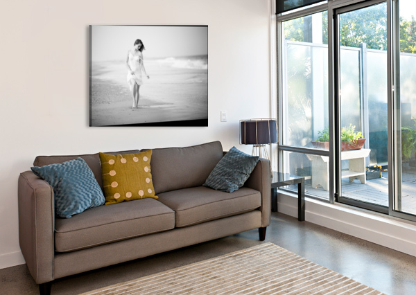 A WALK ON THE BEACH 1X  Canvas Print