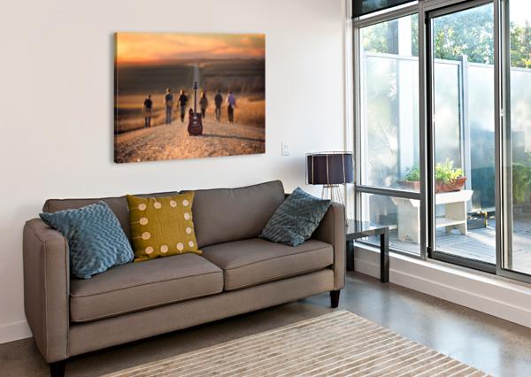 VELVET CRUSH 1X  Canvas Print