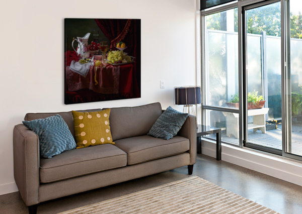 STILL LIFE IN THE DUTCH STYLE WITH A JUG 1X  Canvas Print
