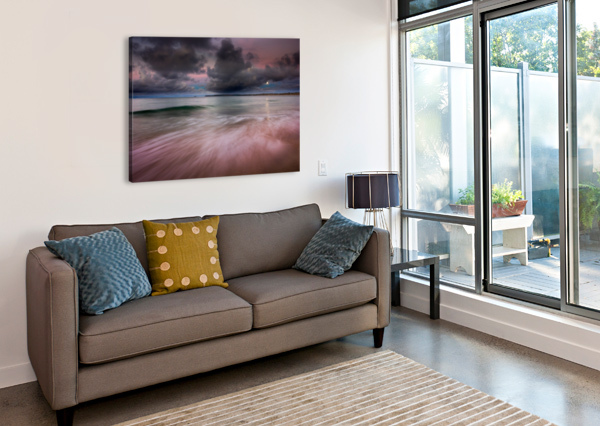 CARBIS BAY MOONLIGHT ANDREW TURNER  Canvas Print