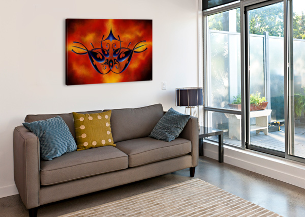 TATTOOMISSIA V1 - FIREBIRD CERSATTI ART  Canvas Print