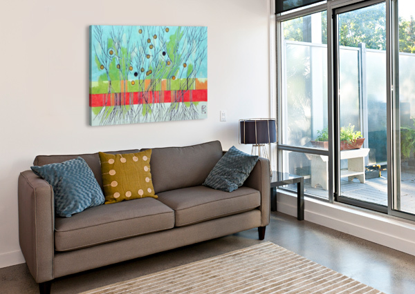 WITHERED TREE  FEDERICOCORTESE  Canvas Print
