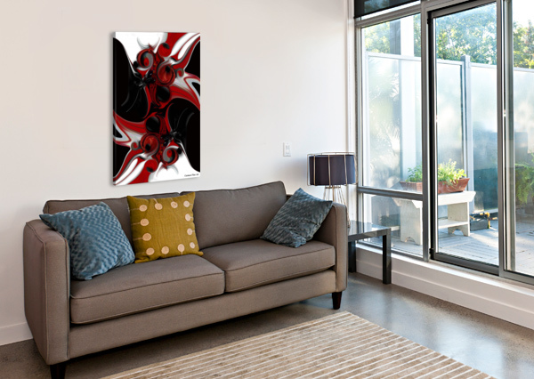 ACT WITH INTUITIVE CREATION CARMEN FINE ART  Canvas Print