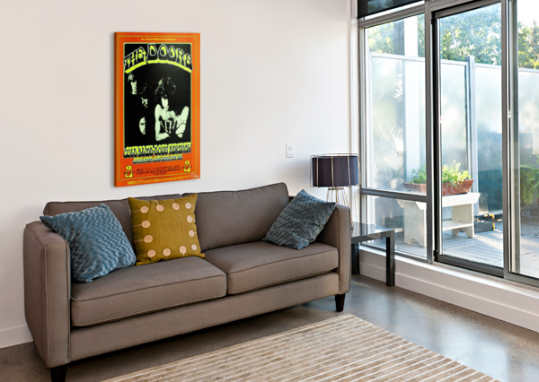 THE DOORS VINTAGE POSTER  Canvas Print