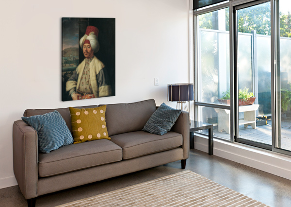 PORTRAIT OF A GENTLEMAN ANTOINE DE FAVRAY  Impression sur toile