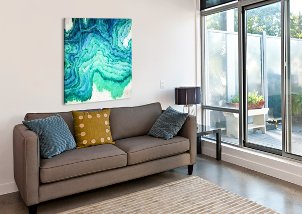 OCEAN FLOOR A WYN CHANCE  Canvas Print